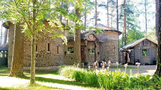 Humppila, Finska: Sauna world Viking Sauna. ViikinkiSaunan saunamaailma.