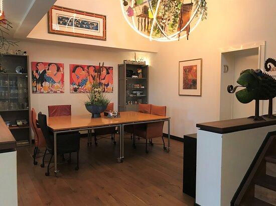 Maasland, Nederland: Keuken van de B&B waar het ontbijt wordt geserveerd