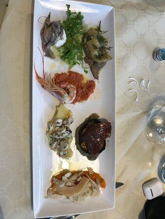 Jolly La Matta: Vorspeise Fischvariation
