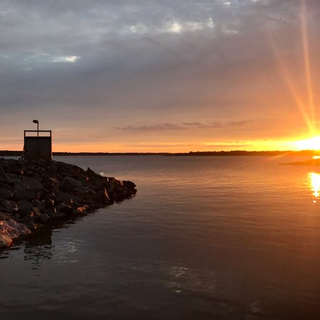 Aland Island, Finlandia: Morgonstund har guld i mund.