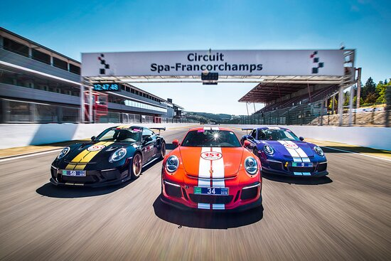 Stavelot, Belgia: Porsche GT3 RS - available to rent from RSRSpa at Circuit de Spa-Francorchamps
