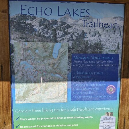 Echo Lake, Californie: First time on this hike bring plenty of water and sunscreen!