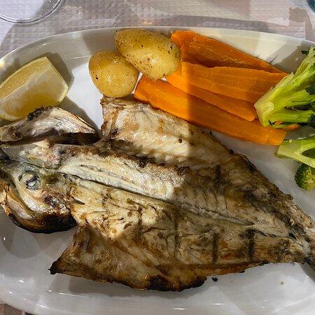 Perfect sea bass!