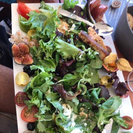 Salades composées très riches