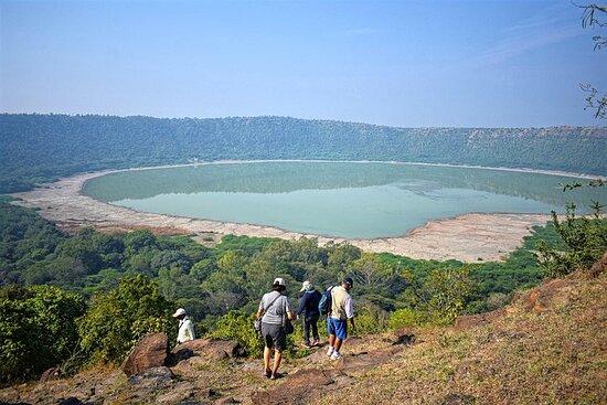 Tour guidato di un cratere solitario da Aurangabad
