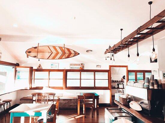 Valla Beach, Úc: Beautiful open indoor outdoor feel