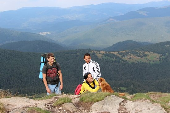 Climbing the highest peak of Carpathians - Hoverla
