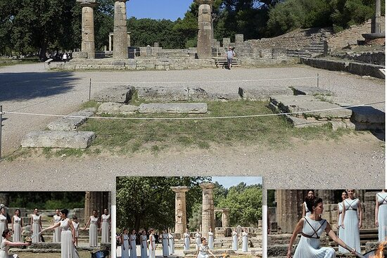 From Athens: Ancient Olympia and...