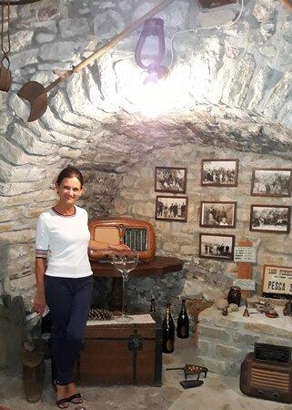 Borgo Maragliano: De supervriendelijke eigenares in het oorspronkelijke huis van haar schoonouders waar in het begin ook de proeverijen doorgingen