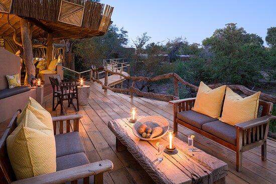Mashatu Game Reserve, Botswana: Bar Area