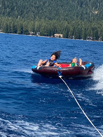 Amazing time on the lake!