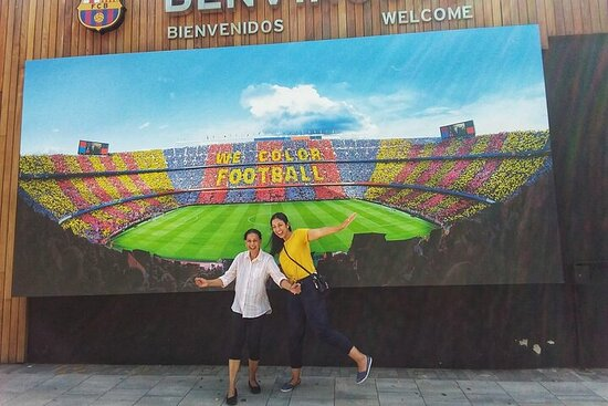 Barcelona Camp Nou privado y Shopping...