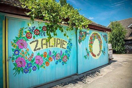 From Krakow: Zalipie Village Private Transport