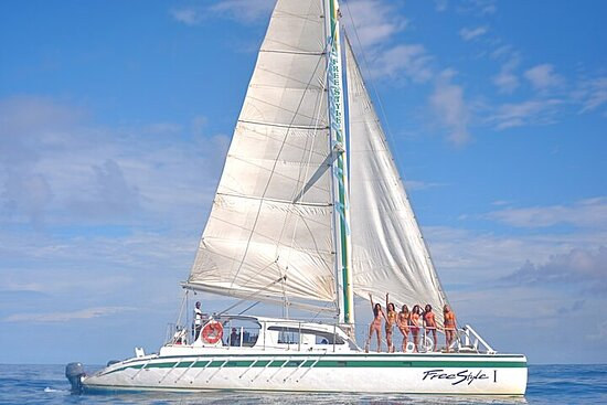 Luxury Freestyle Catamaran From Puerto...