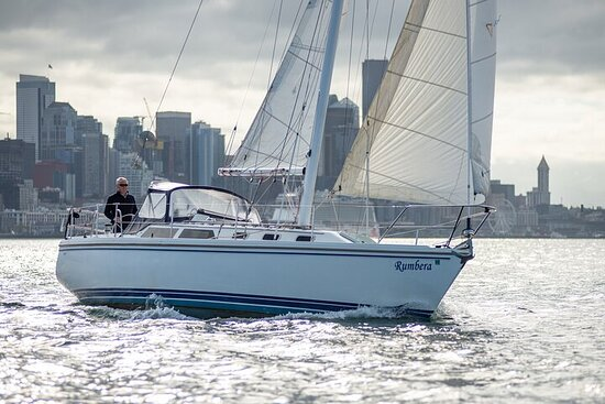 Guided Seattle Sailing Adventure from Bainbridge Island