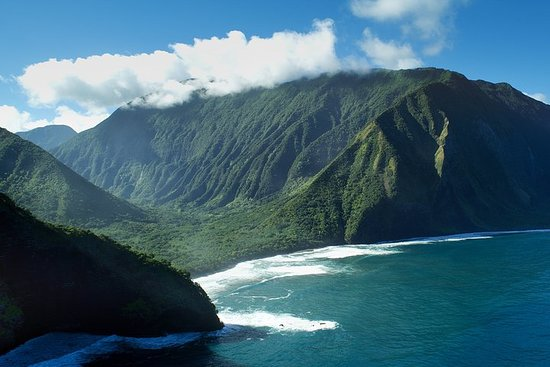 Private Helicopter Excursion over Moloka'i Sea Cliffs with Landing...