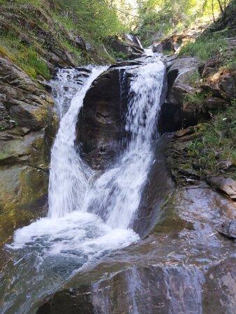 Narrow rugged trail