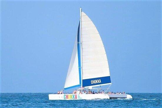 Catamaran Cruise to Dunn's River Falls from Ocho Rios or Montego Bay