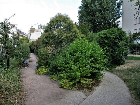 Jardin Alberto Giacometti