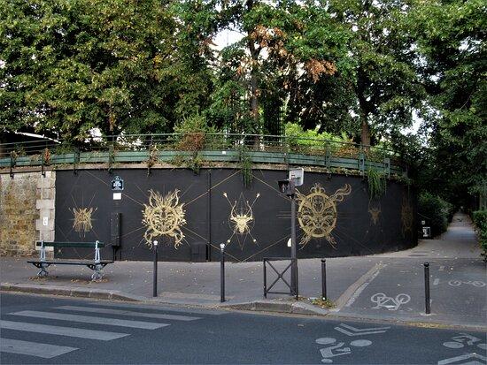 """Fresque """"le Mur 12-13 Ned"""""""