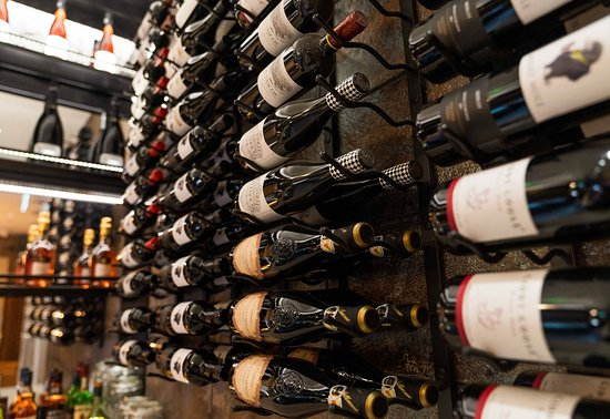 Our beautiful wine selection