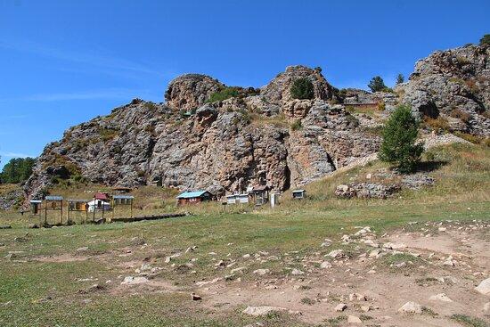 Ovorkhangai Province, Mongolia: Base of Tovkhon