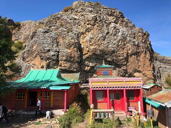Ovorkhangai Province, Mongolia: Tovkhon Monastery buildings
