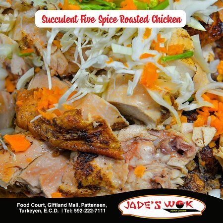 Succulent Five Spice Roasted Chicken