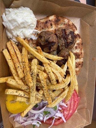Bon Fast food pour manger