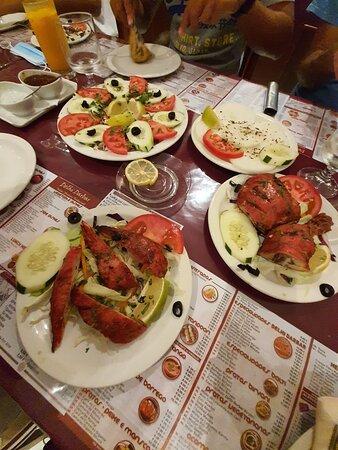 exclente comida indiana