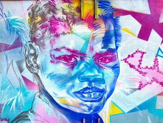 """Fresque """" Enfants Dans Le Parc"""""""