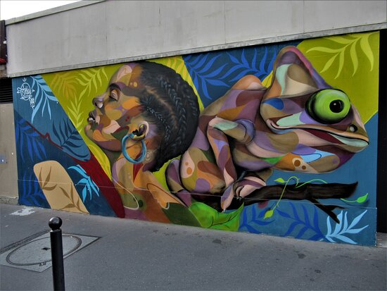"Fresque ""transition"""
