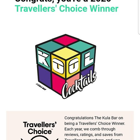 Travellers choice 2020 thank you everyone