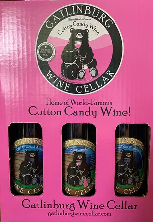 The cotton candy wine 🍷