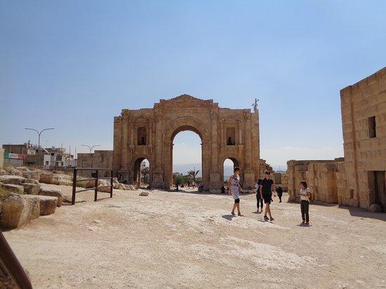 a belső, ókori város felé eső oldal