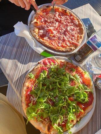 Super Pizza und geniale Arancini