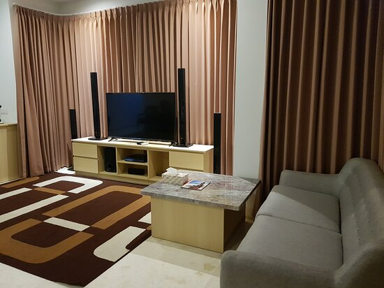 Living Room With State Of The Art Of Lg Home Theater Picture Of Bali Exclusive Residence Ungasan Tripadvisor