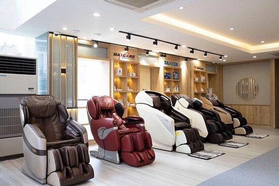 Ghế Massage Quận Phú Nhuận - Maxcare Home