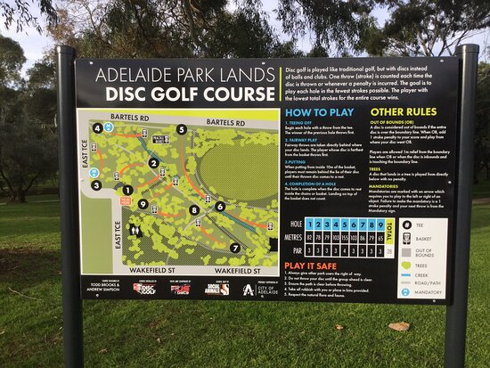 Adelaide Park Lands Disc Golf Course