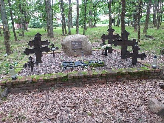 Cmentarz w Krępie