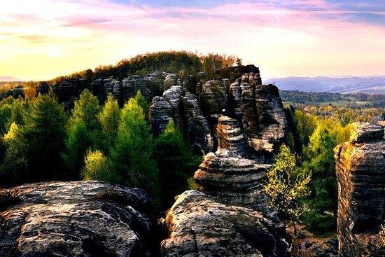 Best of Bohemian and Saxon Switzerland Day Trip fra Dresden-Fantasy...