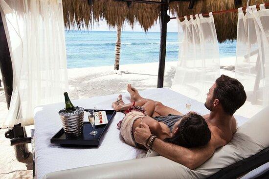 Beachfront Lazy River - Picture of Hidden Beach Au Naturel Resort, Riviera Maya - Tripadvisor