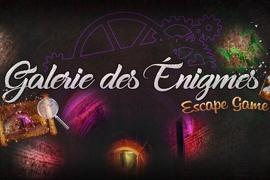 La Galerie des Enigmes - Escape game