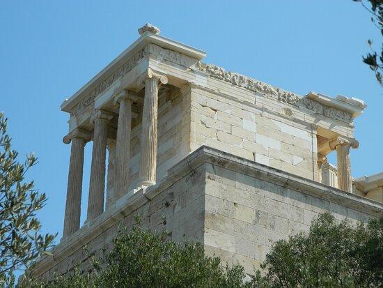 Attika, Kreikka: Atene: tempio di Atena Nike