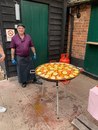 Our paellas are really popular