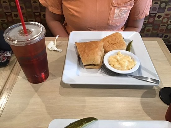 McAlister's Deli: Beef and cheese and Mac and cheese