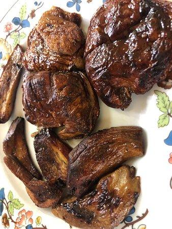 Funghi porcini arrosto! 🍄🍄🍄🍄