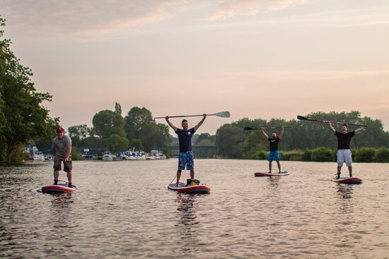 Go With The Flo paddleboarding