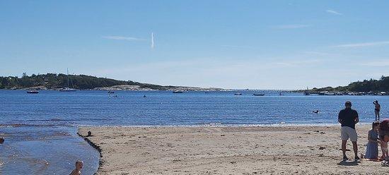 Hvaler Municipality, Noruega: Utsikt fra stranda