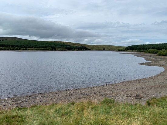 Alwen Reservoir Dam